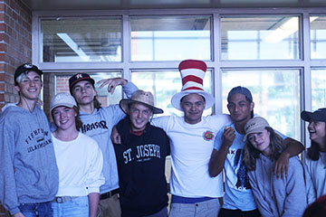 LOY NORRIX SPIRIT WEEK: HAT DAY