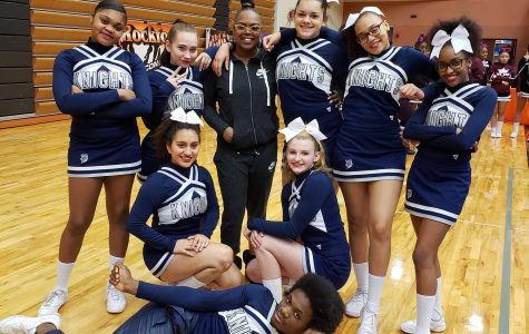 New Competitive Cheer Coach  Jumps into Action