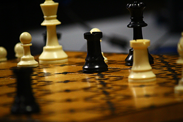 Chess Club Instructor Moves the Loy Norrix Students to Play Chess
