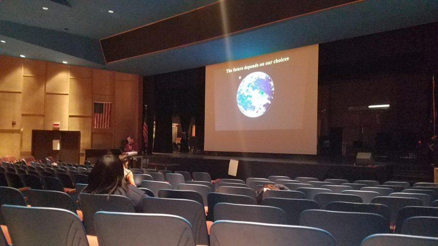 Presentation educates students on climate change preceding UN Summit