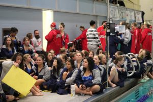 Lady Knights Swim and Dive celebrate last home meet of the year and senior night