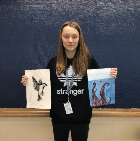 What Role Models Mean To Us: Freshman looks up to her middle school art teacher