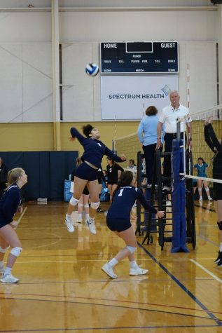 All in for the win: Sophomore talks about her time playing volleyball