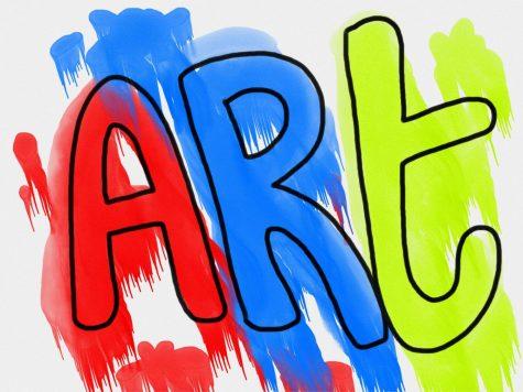 Freshman artist looks towards practical careers in the arts