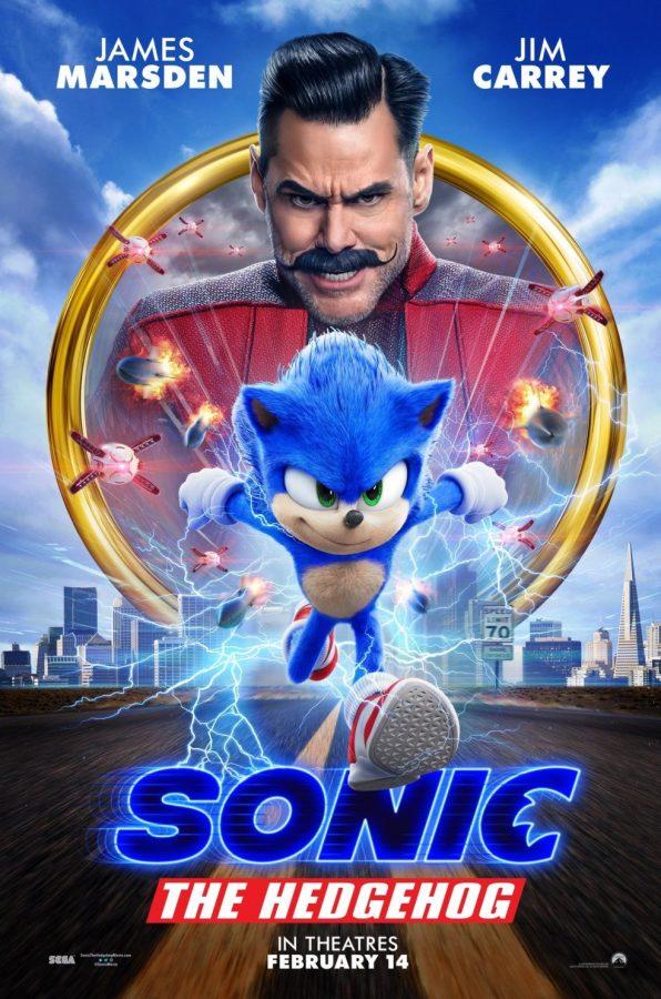 Sonic the Hedgehog speeds onto the big screen