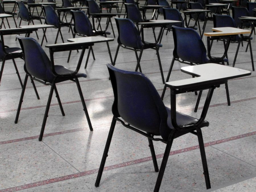 In exam halls throughout the country, students are still sitting to take the SAT. This year though, testing locations may look slightly different as students are required to practice social distancing.