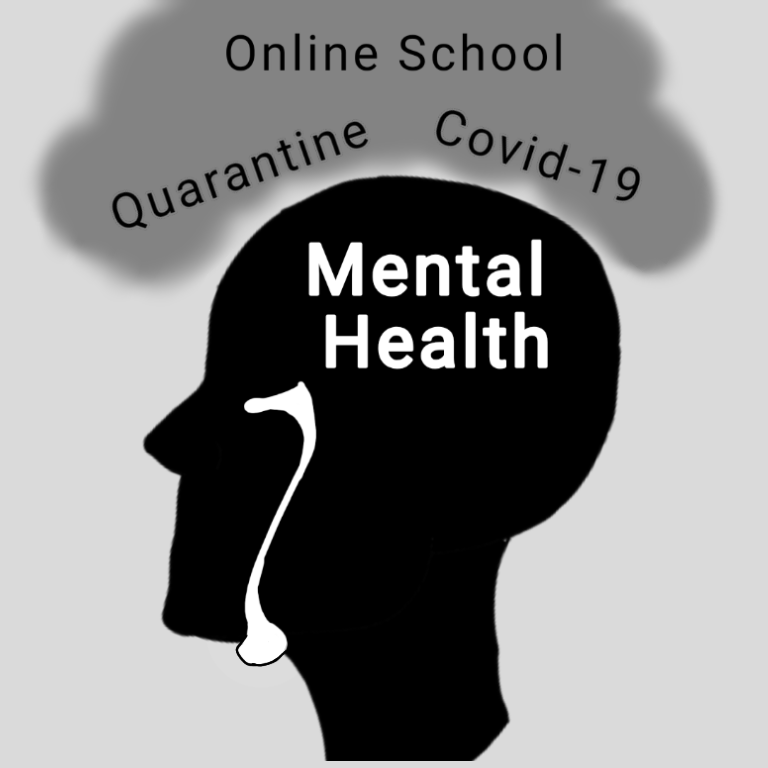 Quarantine and online school has affected the mental health of students and teachers alike