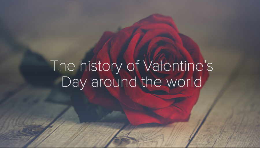 The history of Valentine's Day around the world