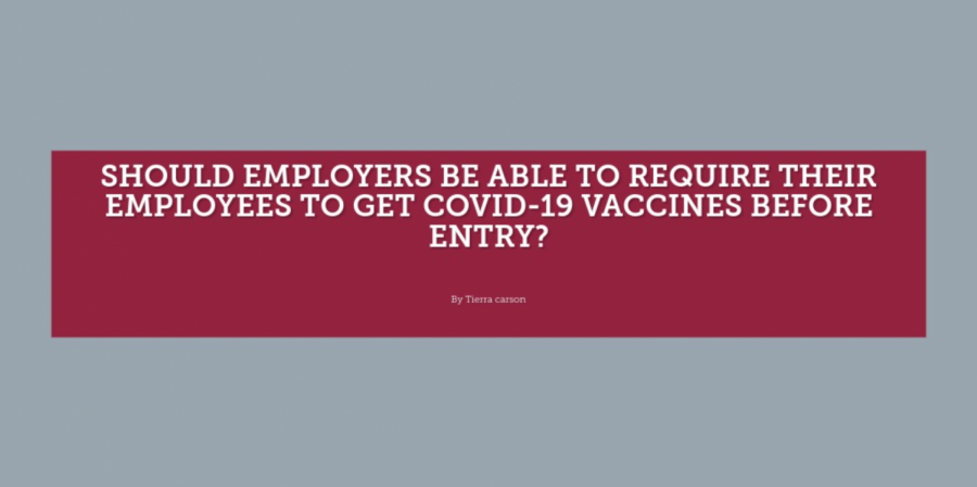 Knights Speak: Should employers be able to require their employees to get COVID-19 vaccines before entry?