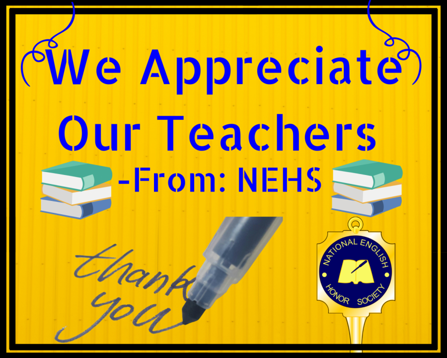 The National English Honors Society recognizes the hard work that has often gone overlooked by Loy Norrix teachers during this time of virtual learning.