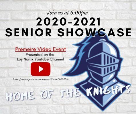 Senior Showcase Awards at 6 pm Friday May 28