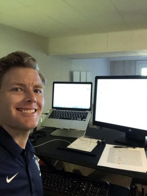 Loy Norrix teacher Kyle Shack prefers to use Classroom Relay to communicate with his students and help them out when they are struggling.