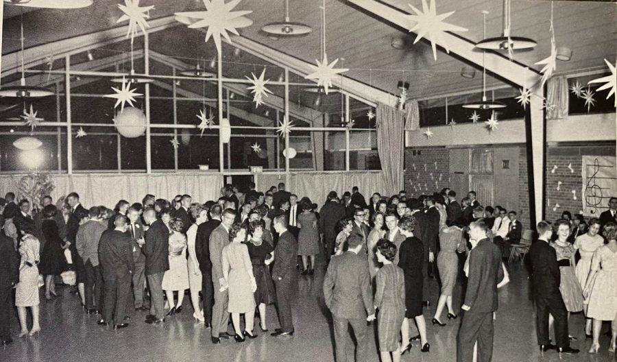 Students in 1961 at their first ever Homecoming dance located at Milwood Magnet Middle School. It was an opportunity to see new faces, peers and have fun.